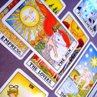 Rider Waite-Smith Tarot deck